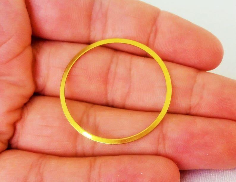 1885C-U-228 2pcs Raw Brass Curved Pendant 140x18mm