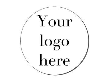 Business Stickers, Custom Logo Stickers,  Logo labels, Logo Stickers For Business, Your Logo Here