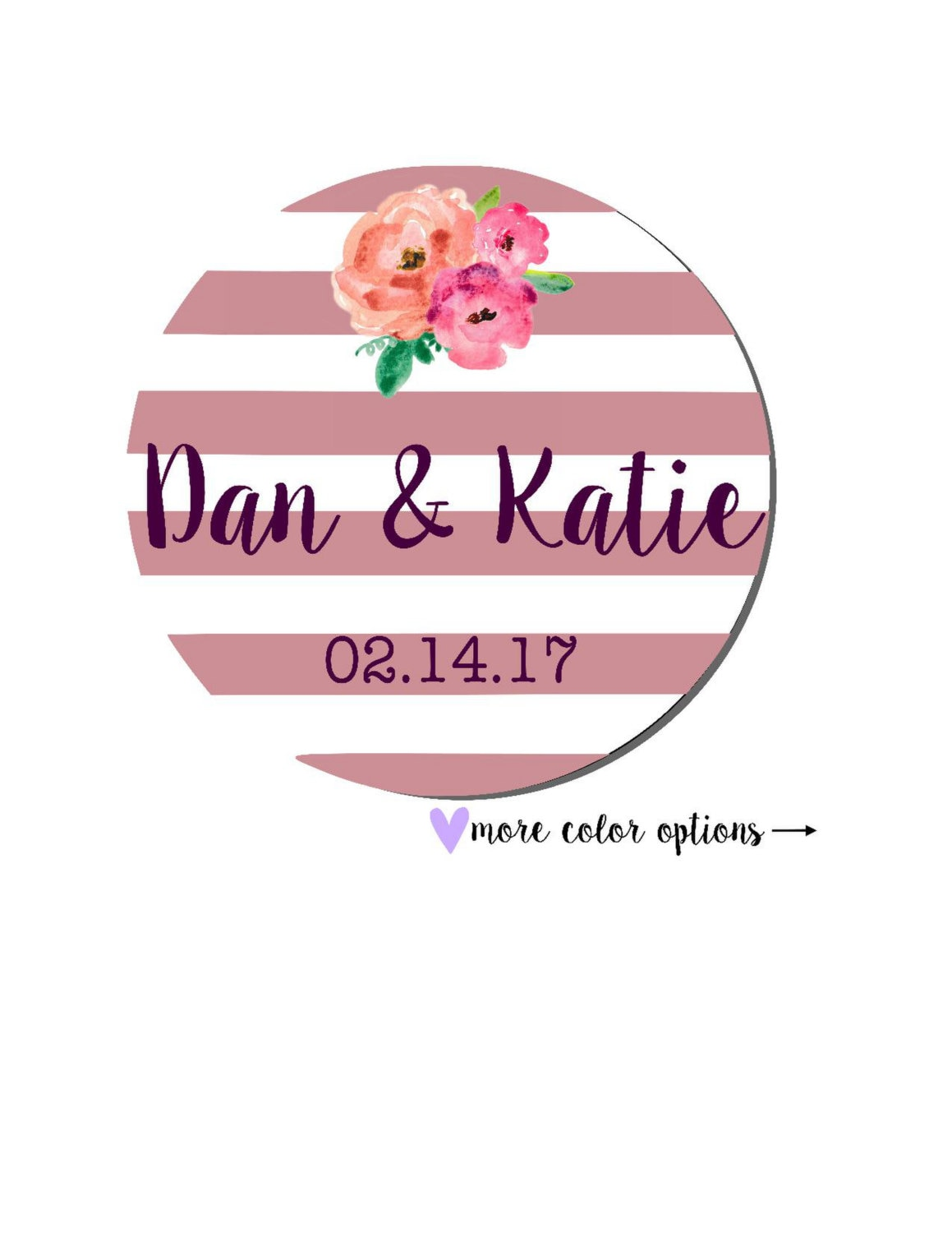 Wedding Sticker Labels- Wedding Invitation Stickers- Wedding Favor ...