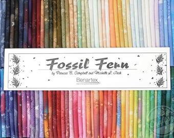 "PreOrder Fossil Fern Fat Quarter Box 18x22"" For Benartex - 90 Pieces"