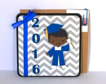 Boy Graduation Card Etsy