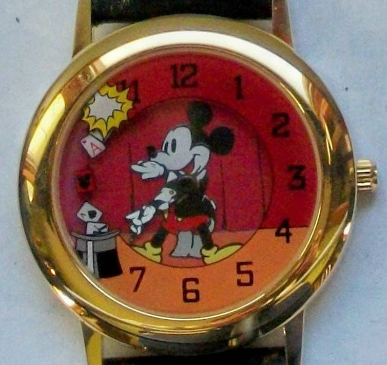 a3e0a32920fd New Disney Limited Edition Mickey Mouse Watch Magician Watch