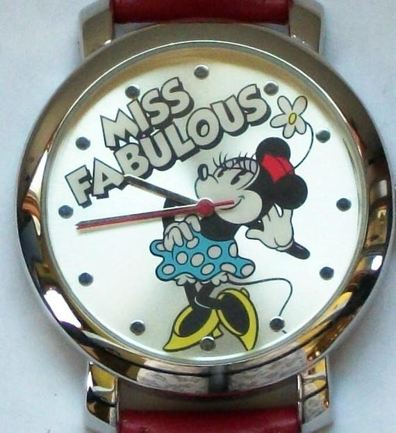 Disney REtired Minnie Mouse Watch! MISS FABULOUS!