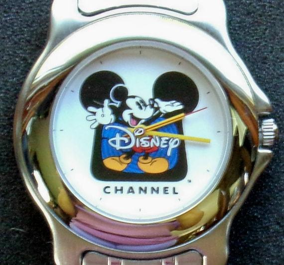 Disney Silver Disney Channel Unisex Mickey Mouse W