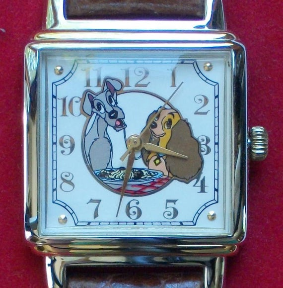 Disney Limited Edition Lady and the Tramp Watch! H