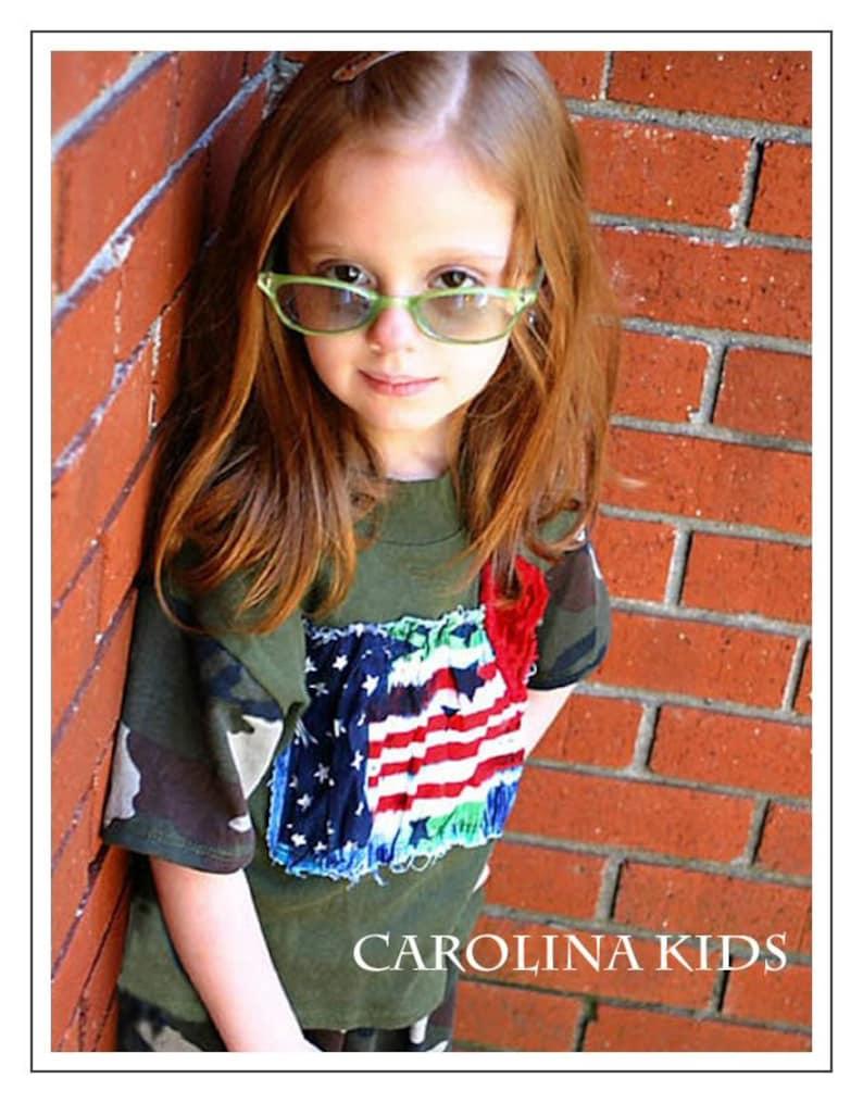 girls Carolina Kids Boutique Luv My Camo Capri outfit  Set toddler