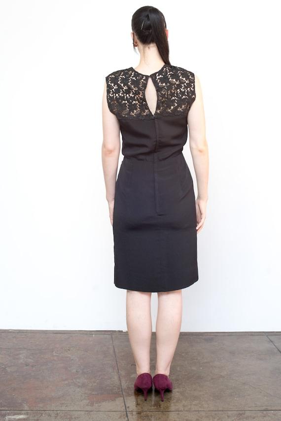 Vintage 1950's Dress 'Wiggle Room' Secretary Mad … - image 5
