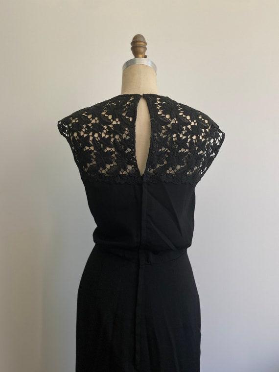 Vintage 1950's Dress 'Wiggle Room' Secretary Mad … - image 8