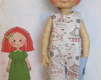 Romper Playsuit for Meadow Dolls Dumplings