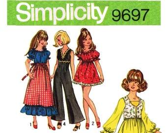 E750 Copy of Vintage Simplicity Pattern #9697 Barbie Doll Clothes Pattern