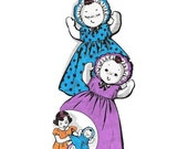 20 quot Freckles Topsy Turvy Doll Pattern