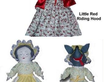Princess Cinderella Scullery Maid Topsy Turvy Doll Pattern Etsy