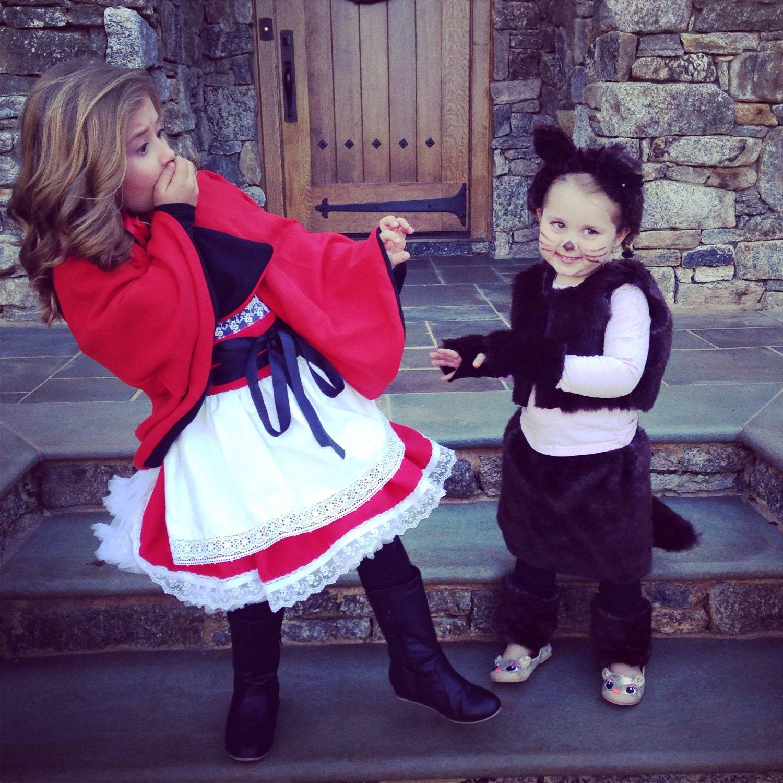 Caperucita Roja inspirado crece conmigo traje del