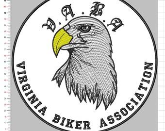 Custom bike patch