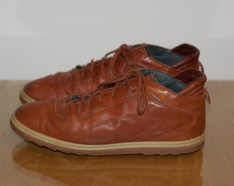 7c5f6a14adc7e9 Vintage Reebok BOKS 1980 s Leather Trainers Size 7.5