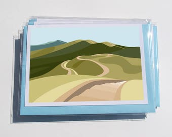 Pack of 6 Malvern Cards (1)