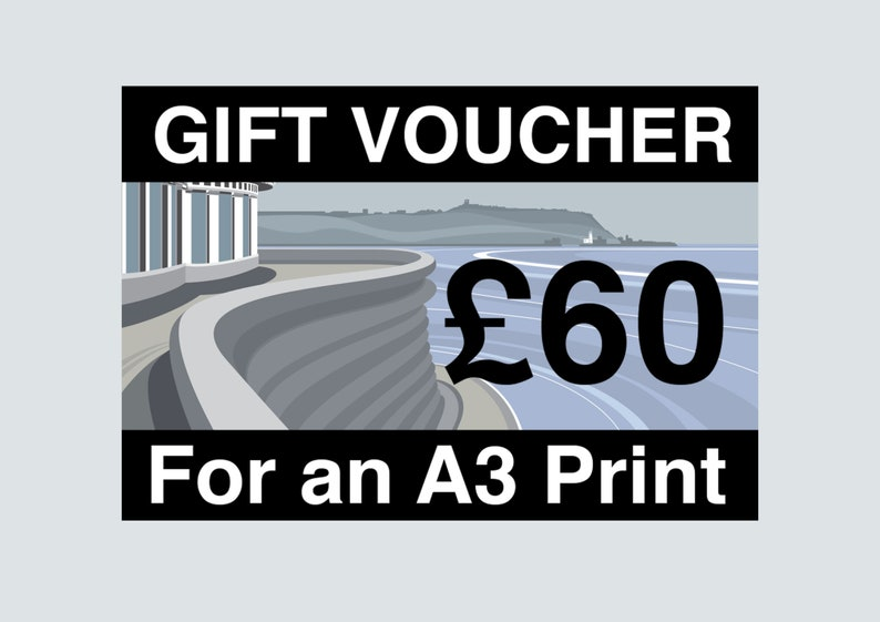 VOUCHER for A3 PRINT  limited Edition Minimal contemporary image 0