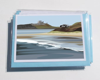 1 x Pack of 6 Mixed North East Cards - NE.2