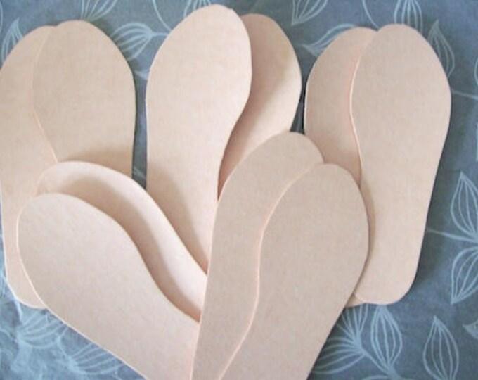 shoe making insoles (pack 5 pairs)Shoe board insole board (pack of 5 pairs) Texon board for shoemaking (choose size below)