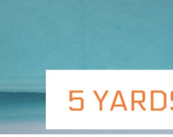 "Crin Turquoise 6"" (crinoline horsehair braid) 6 inch (16 cm) 5 yards"
