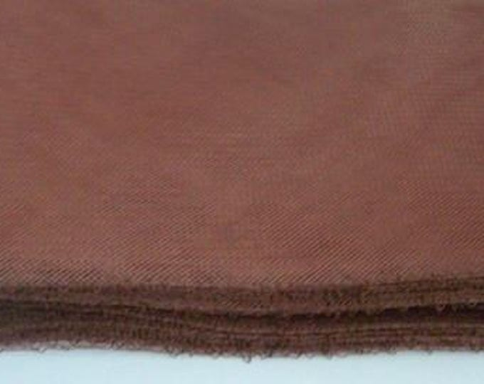 "Crin Fabric UK crin brown 6"" Crin brown (crinoline horsehair braid) 6 inch (16cm)  Sold per YARD (continuous)"