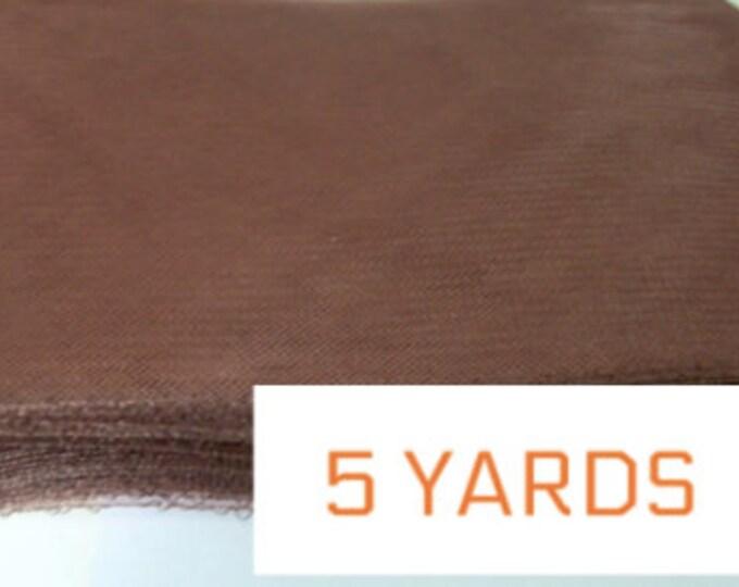 "crinoline horsehair braid crin Crin brown 6"" buy 5 yards for the price of 4 (crinoline horsehair braid) 6 inch (16 cm)"