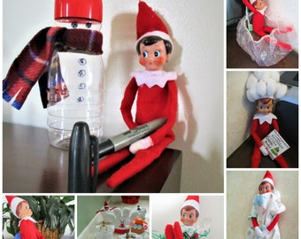 CHRISTMAS ELF KIT  34+ Days planned, prepped, photographed - all done for you already!