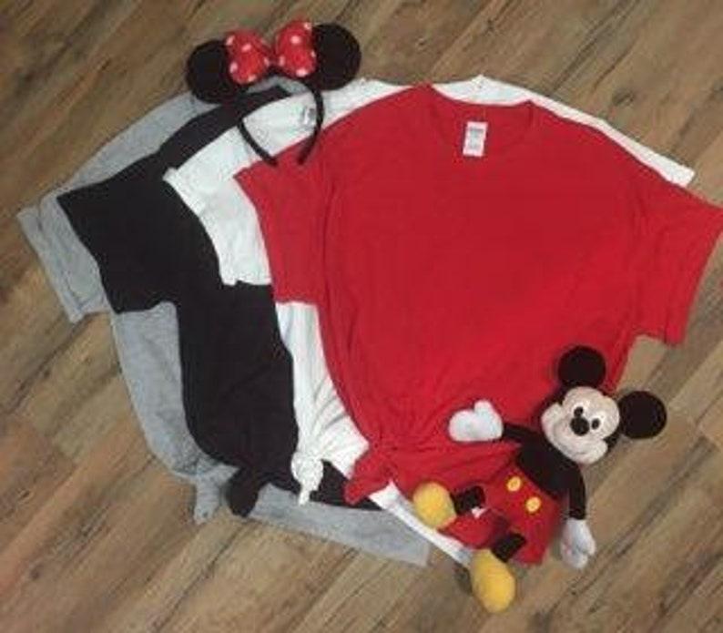 Disney Shirts minnie mickey glasses