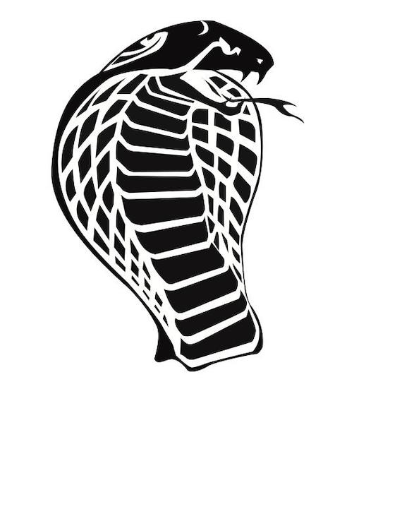 cobra svg vector image logo etsy cobra svg vector image logo