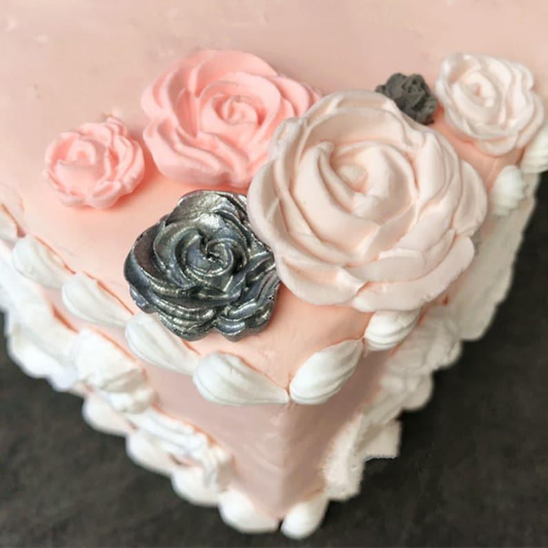 7 Roses Shape Cake Mold Chocolate Mould for the Kitchen Baking Cake Tool DIY Sugarcraft Decoration Tool