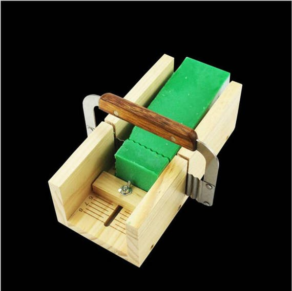 Precision Loaf Soap Cutter Wooden Box with String Slicer Cutting Tools Set