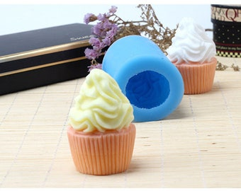 3D Silicone Mold Ice cream Sweet tube Chocolate Mold DIY Soap Mold Fondant Cake Decorating Tools Silicone Soap Molds R1786