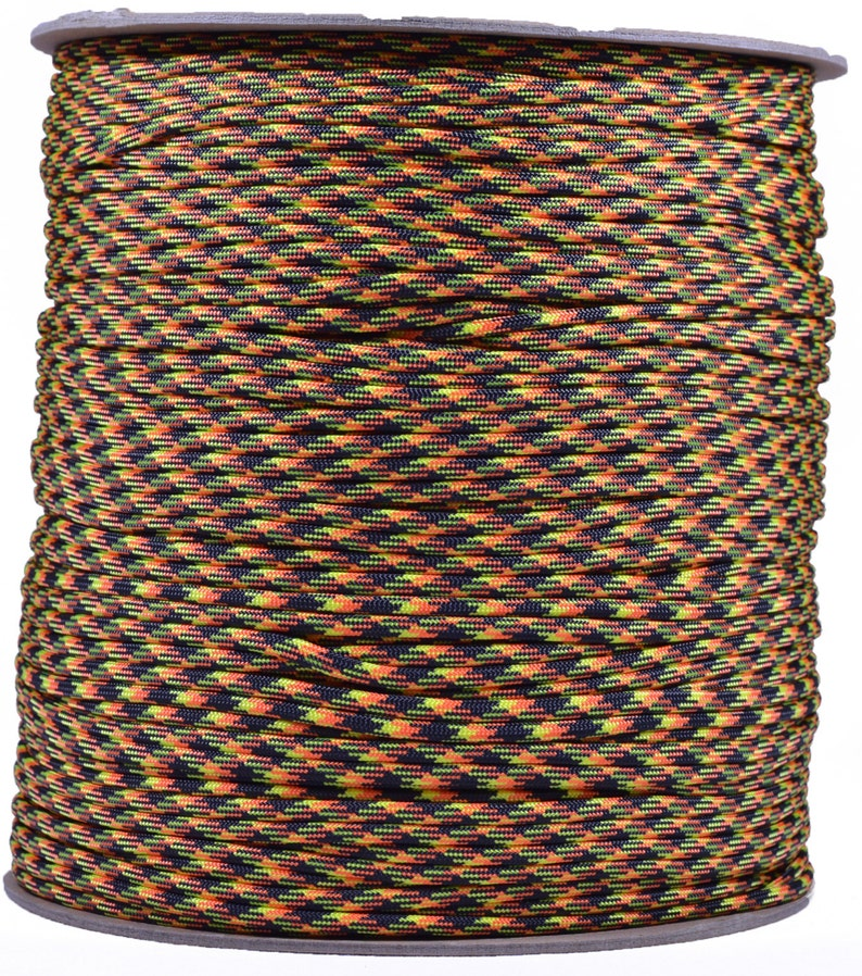 Nuke 1000 Foot Spool 550 Paracord for Paracord Crafts Made in the United States