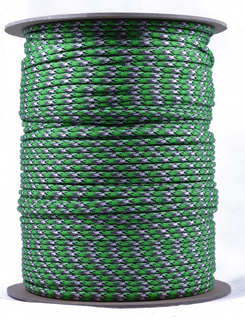 Made in the United States 100 Feet 550 Paracord for Paracord Crafts Biosludge