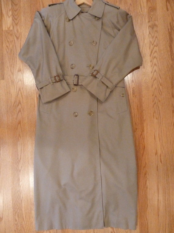 Burberry Trench Coat, Vintage Burberry, Women's Bu