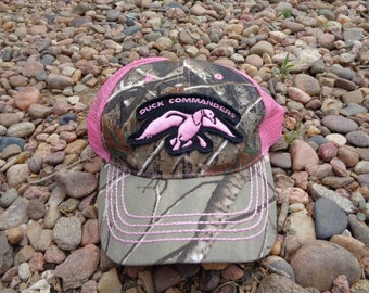 cb1434a8a74 Supplies • Duck Commander Pink Camouflage Camo Mesh Baseball Cap Hat