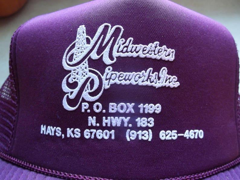 3c8979be42e Vintage Midwestern Pipeworks Inc Hays Kansas KS Foam Mesh