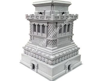 Custom Lego Washington Monument Instructions Only Etsy