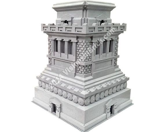 Custom Lego Statue Of Liberty 3450 Pedestalbase Etsy