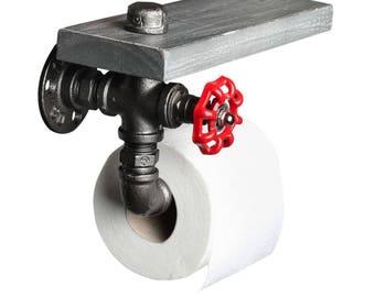 Fire Hose Toilet Roll Holder