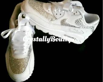 Strass Bling personnalisé Nike Air Max 90 avec par