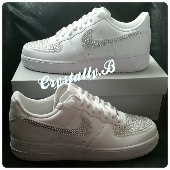 air force 1 con brillantini