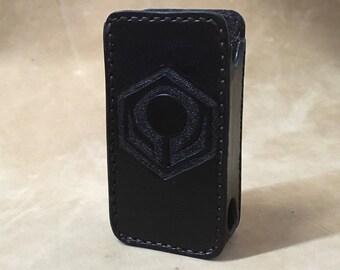 Leather ecig case for Hexohm v.3