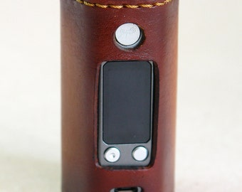 Leather E-cig cover for Reuleaux RX200