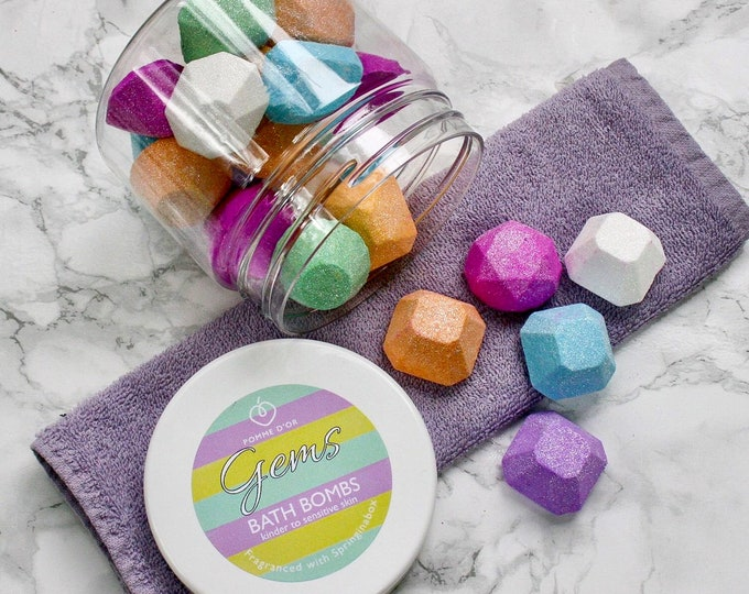 Gems Bath Bombs - kinder to sensitive skin