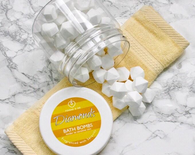Diamond Bath Bombs - kinder to sensitive skin