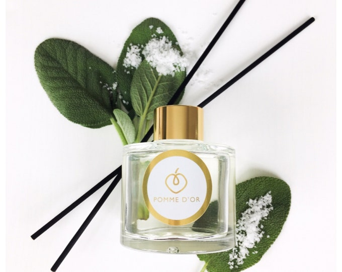 Wood Sage & Sea Salt Scented Reed Diffuser