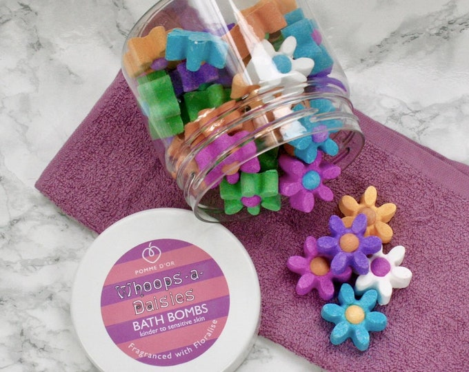 Whoops-a-daisies Bath Bombs - kinder to sensitive skin