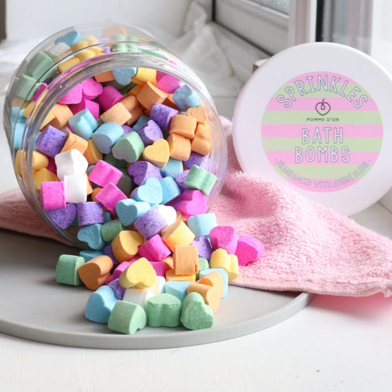 Sprinkles Bath Bombs - kind to sensitive skin