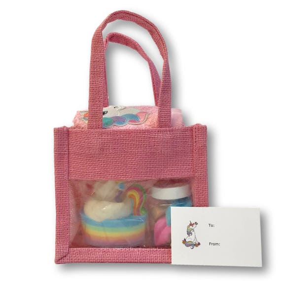 Unicorn Gift Bag - Bath Set (small)